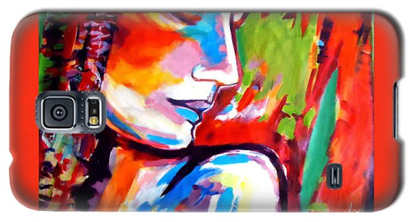 Galaxy S5 Case featuring the painting Insight by Helena Wierzbicki