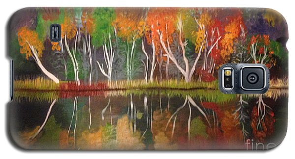 Inspiration Autumn Evening In Work Galaxy S5 Case