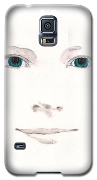 Galaxy S5 Case featuring the drawing Inspiration by Stephanie Grant