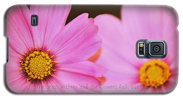 Inspirational Flower 2 Galaxy S5 Case