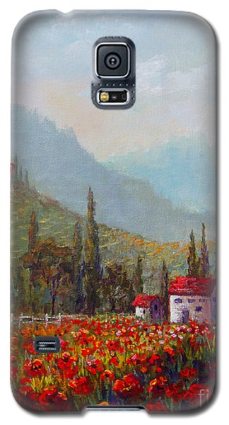 Inspired By Tuscany Galaxy S5 Case by Lou Ann Bagnall