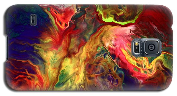 Intense Emotions Contemporary Abstract Galaxy S5 Case