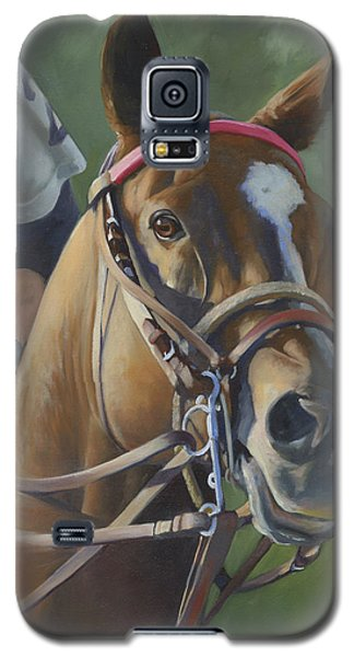 Galaxy S5 Case featuring the painting Intensity by Alecia Underhill