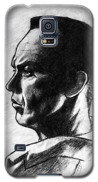 Galaxy S5 Case featuring the painting Michael Keaton by Salman Ravish