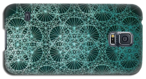 Galaxy S5 Case featuring the drawing Interference by Jason Padgett