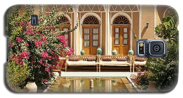 Interior Garden With Pond In Yazd Iran Galaxy S5 Case