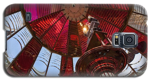Interior Of Fresnel Lens In Umpqua Lighthouse Galaxy S5 Case