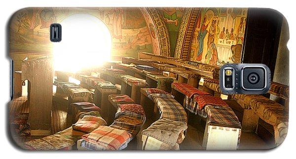 Interior Of Old Orthodox Church In Sibiu Romania Galaxy S5 Case