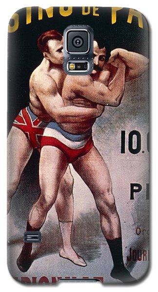 Sport Art Galaxy S5 Case - International Wrestling Championship by Pal Jean de Paleologue