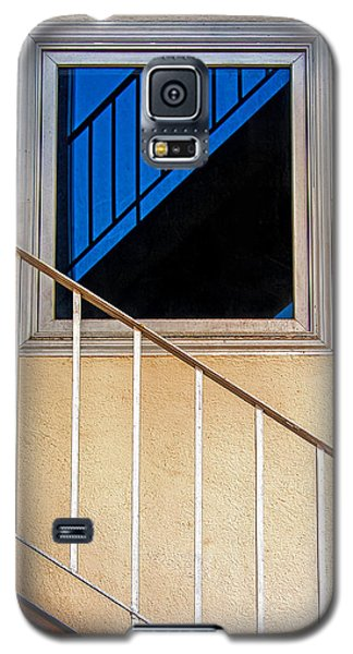 Intersection Of Real And Reflection  Galaxy S5 Case by Gary Slawsky