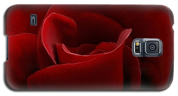 Intimate With A Red Rose Galaxy S5 Case
