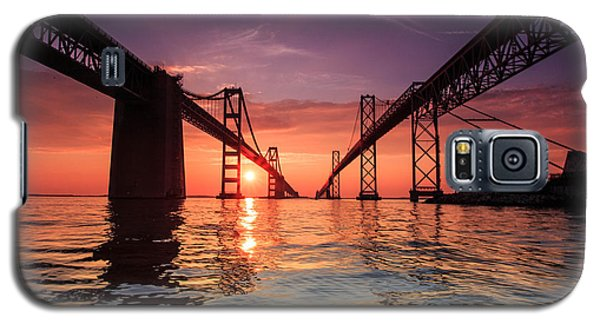 Into Sunrise - Bay Bridge Galaxy S5 Case