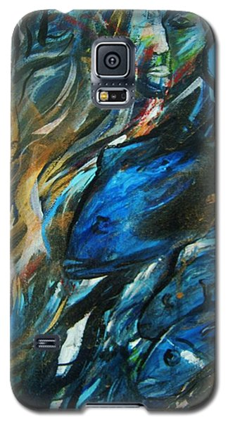 Into The Blue Galaxy S5 Case by Dawn Fisher