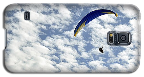 Galaxy S5 Case featuring the photograph Into The Blue Yonder by AJ  Schibig