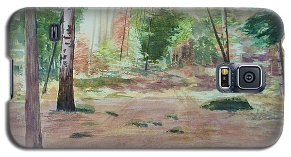 Galaxy S5 Case featuring the painting Into The Forest by Martin Howard
