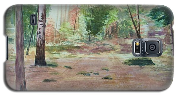 Into The Forest Galaxy S5 Case by Martin Howard