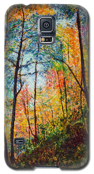 Into The Forest Galaxy S5 Case by Ron Richard Baviello