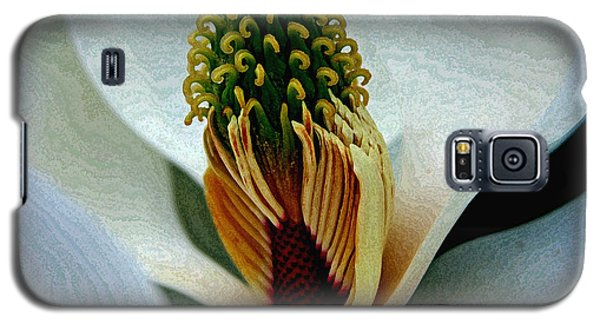 Into The Heart Of The Magnolia Drybrush Galaxy S5 Case
