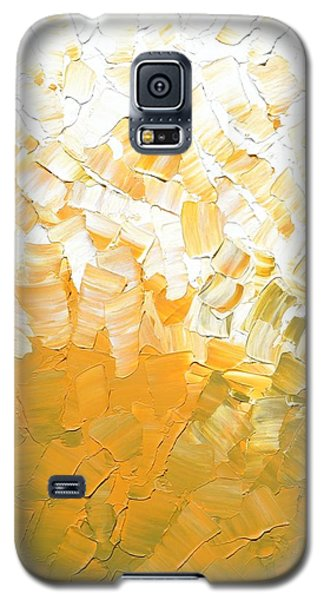 Galaxy S5 Case featuring the painting Into The Light by Linda Bailey