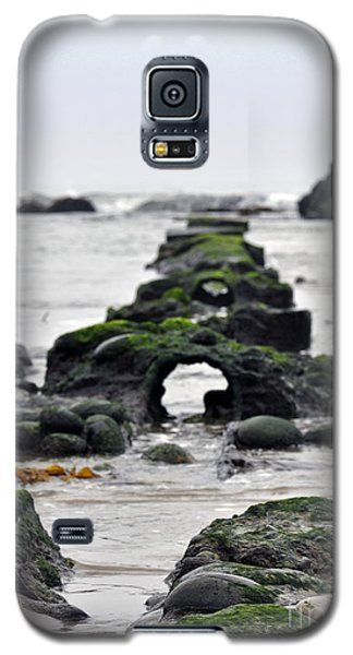 Galaxy S5 Case featuring the photograph Into The Ocean by Minnie Lippiatt