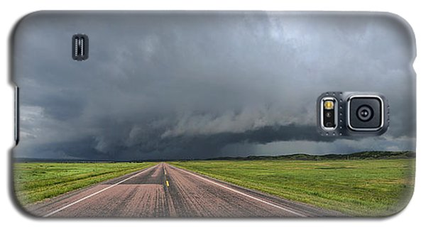 Galaxy S5 Case featuring the photograph Into The Storm by Sebastien Coursol
