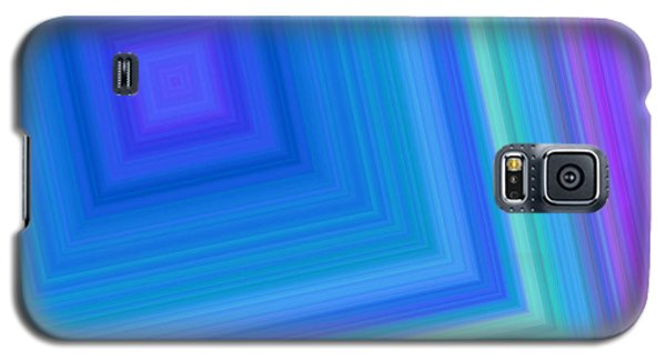 Galaxy S5 Case featuring the digital art Into The Tunnel by Karen Nicholson