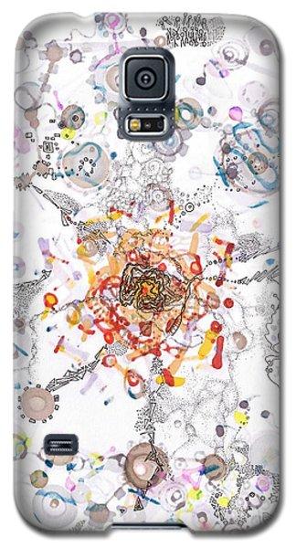 Intracellular Diversion Galaxy S5 Case by Regina Valluzzi