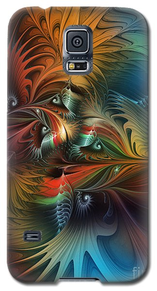 Intricate Life Paths-abstract Art Galaxy S5 Case