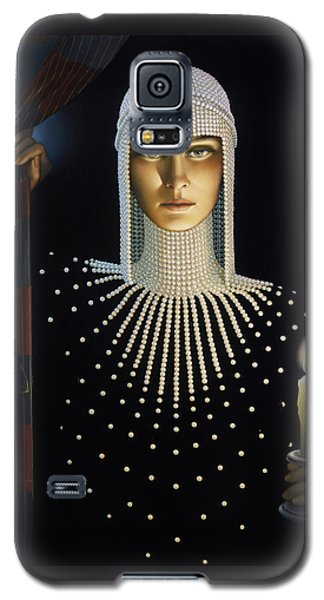 Intrique Galaxy S5 Case by Jane Whiting Chrzanoska