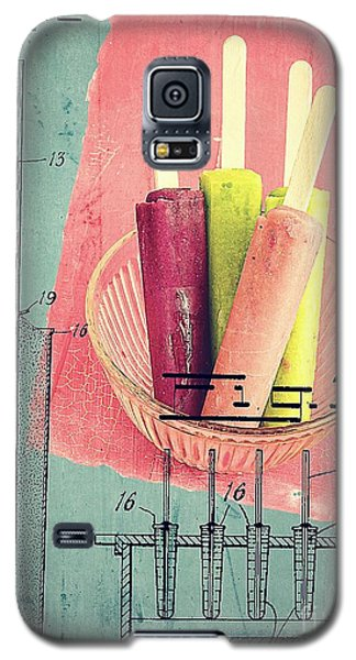 Ice Galaxy S5 Case - Invention Of The Ice Pop by Edward Fielding
