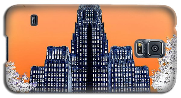 Inverted Buffalo City Hall Galaxy S5 Case by Jim Lepard