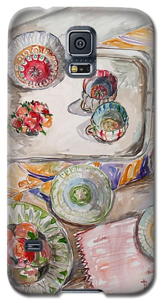 Invitation1 Galaxy S5 Case by Becky Kim