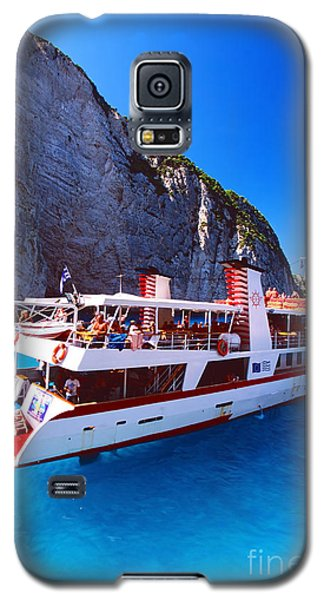 Ionian Sea Cruise Galaxy S5 Case by Aiolos Greek Collections