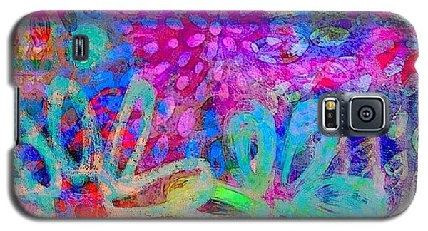 Colorful Galaxy S5 Case - #ipadart #colorful #digitalart #rainbow by Robin Mead