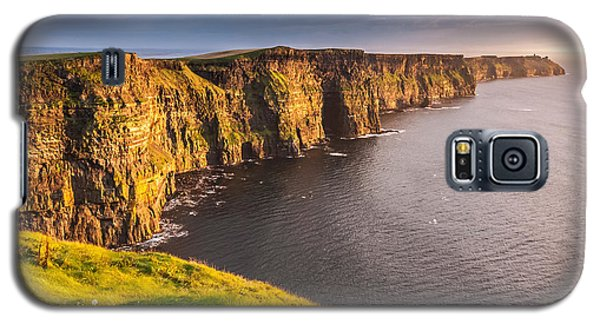 Ireland's Iconic Landmark The Cliffs Of Moher Galaxy S5 Case
