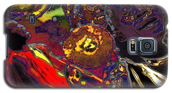 Galaxy S5 Case featuring the digital art Irembo by Mojo Mendiola