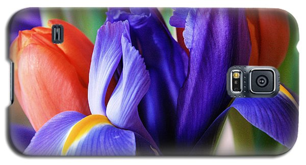 Iris And Tulips Galaxy S5 Case