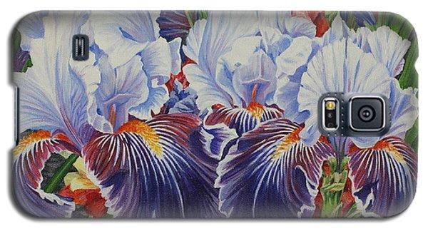 Iris Blooms Galaxy S5 Case
