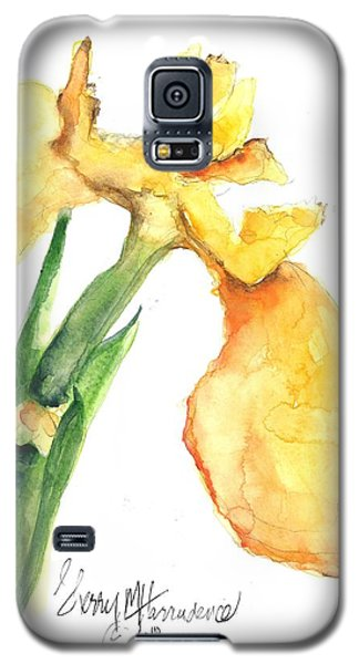 Iris Blooms  Galaxy S5 Case