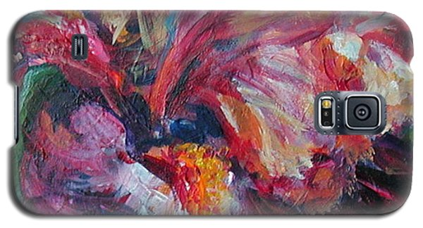 Iris - Bold Impressionist Painting Galaxy S5 Case