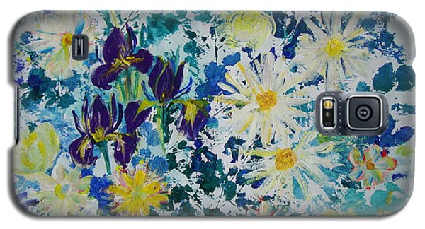 Iris Bouquet Galaxy S5 Case by Veronica Rickard