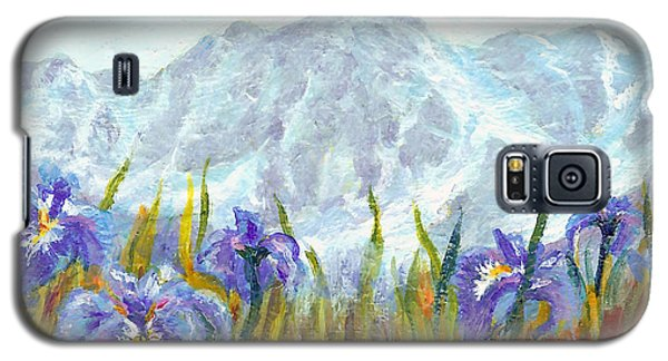 Iris Field In Alaska Galaxy S5 Case
