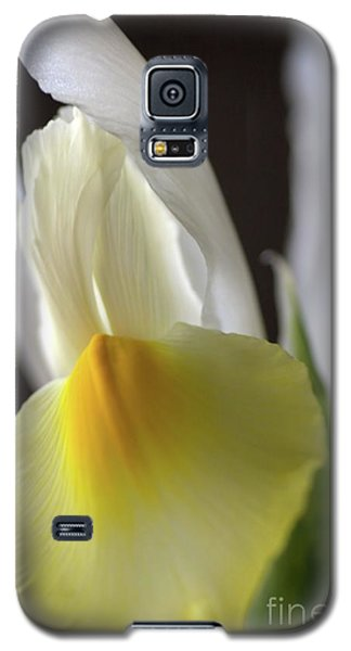 Galaxy S5 Case featuring the photograph Iris Flower by Joy Watson