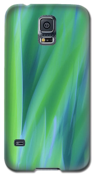 Iris Foliage Abstract Galaxy S5 Case
