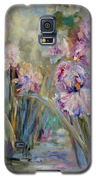 Iris Garden Galaxy S5 Case by Mary Wolf