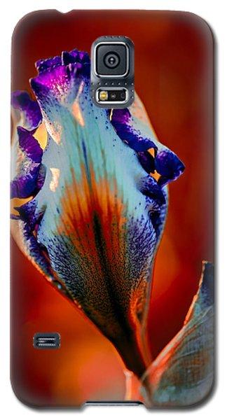 Iris In Red Galaxy S5 Case
