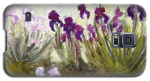 Iris In The Yard Galaxy S5 Case