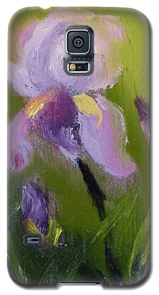 Iris Miniature Galaxy S5 Case by Carol Berning