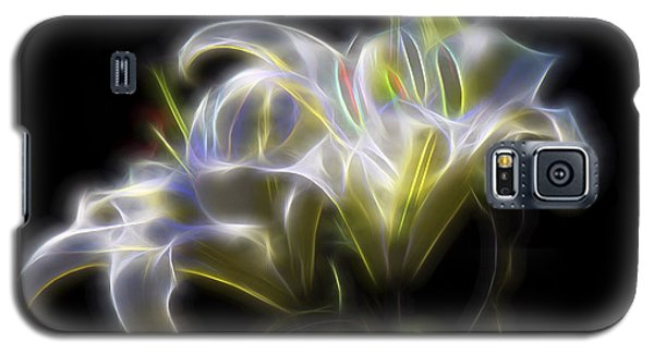 Galaxy S5 Case featuring the digital art Iris Of The Eye by William Horden