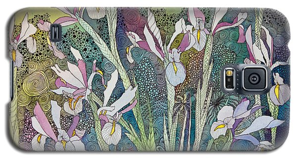 Irises And Doodles Galaxy S5 Case
